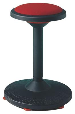 <p>Tabouret variable rouge</p>